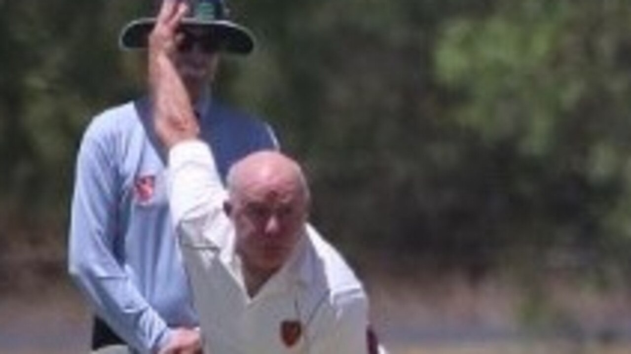 Veterans cricketer Mike McGovern