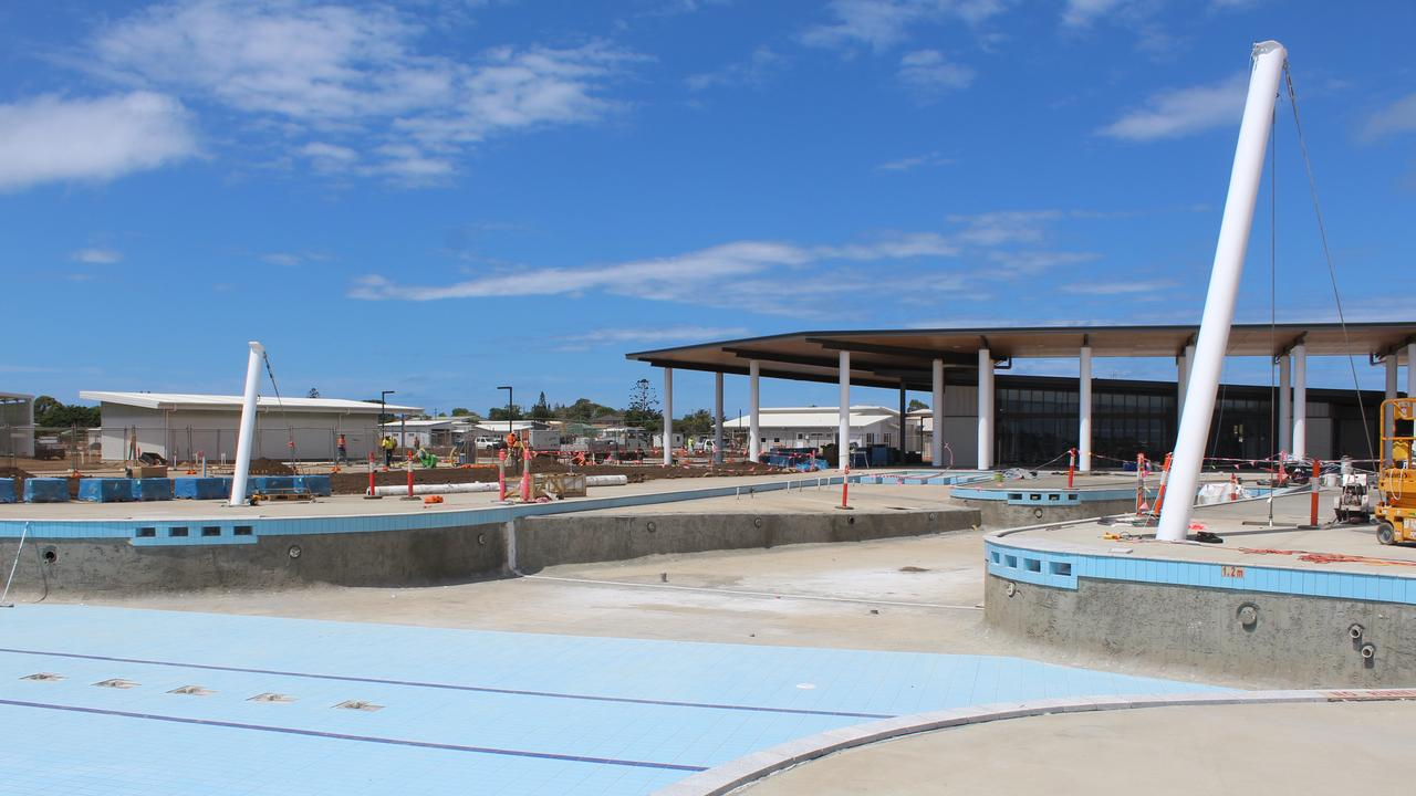 RISING UP: Work is progressing at the RV Lifestyle Village Oceanside in Burnett Heads.