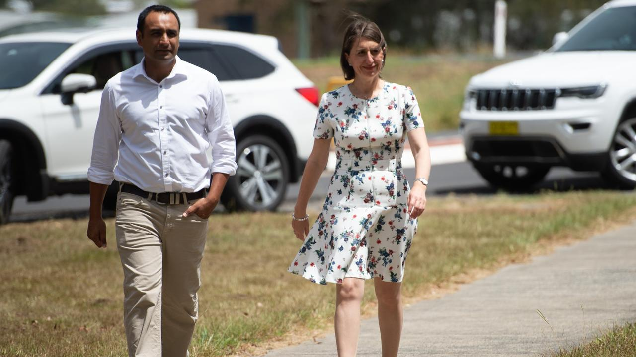 Nationals candidate Gurmesh Singh with NSW Premier Gladys Berejiklian came to Coffs Harbour in the lead up to the State election last year to announce funding for the West Woolgoolga Sports Complex. .