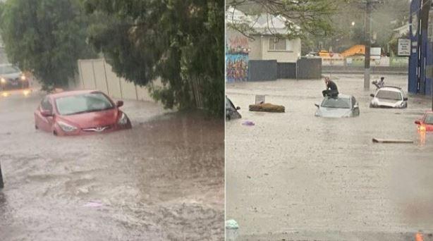 Flash flooding, road chaos as super storm slams SEQ