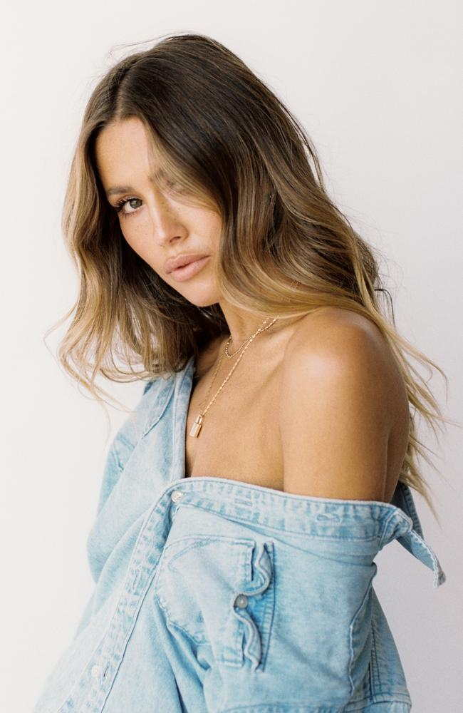 Model and influencer Ruby Tuesday Matthews has hit back at criticism over her involvement in a delayed Jetstar flight on Thursday. Picture: supplied