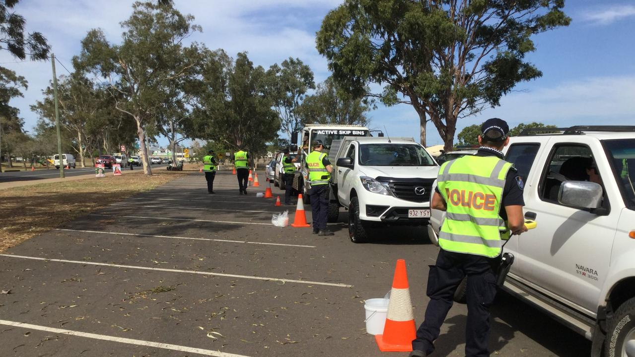 TEAMING UP: On Friday police officers from the Wide Bay Burnett area conducted Operation Stopper to target traffic offences in the Bundaberg region.