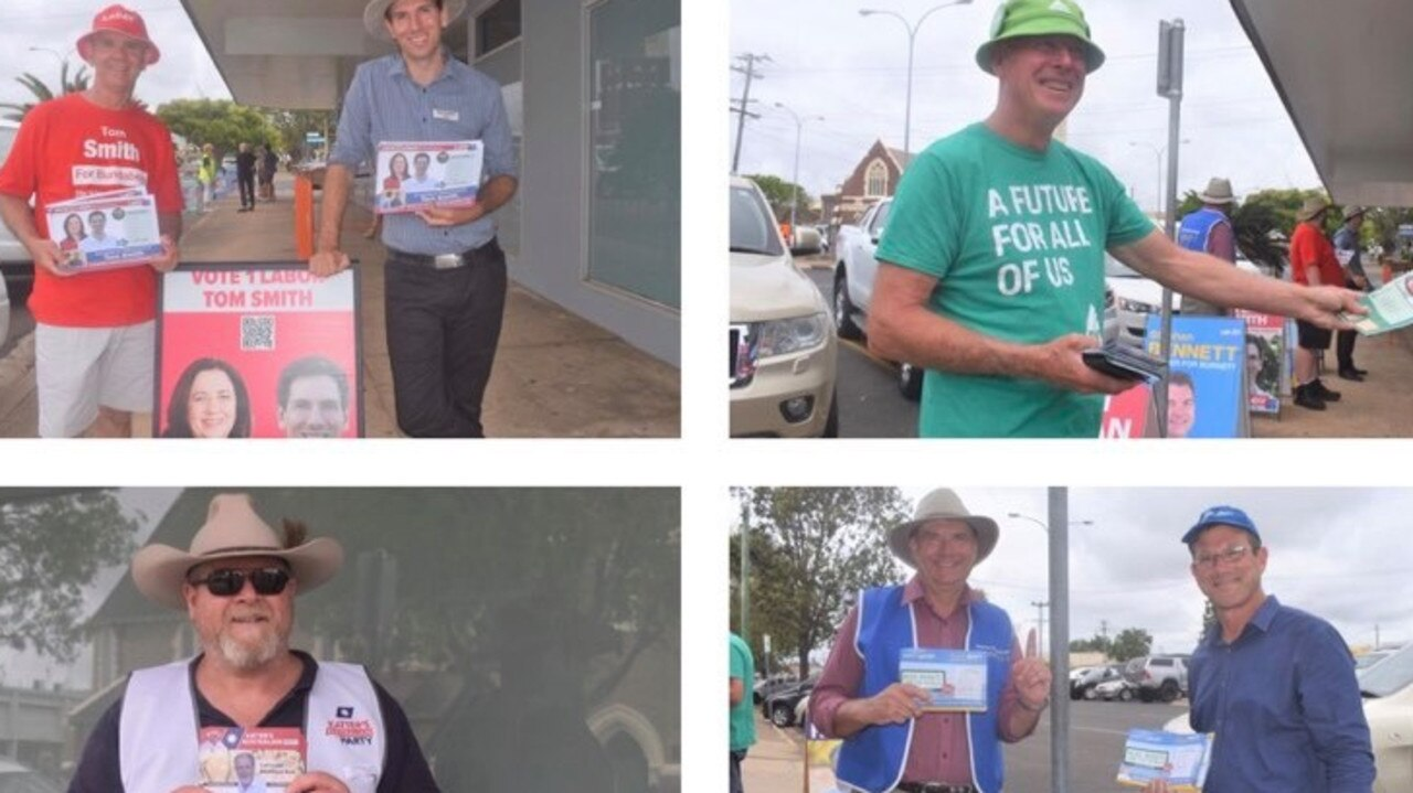 The region's polling booths are running hot.
