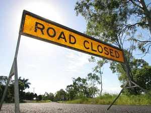 Temporary closure for North Rockhampton road