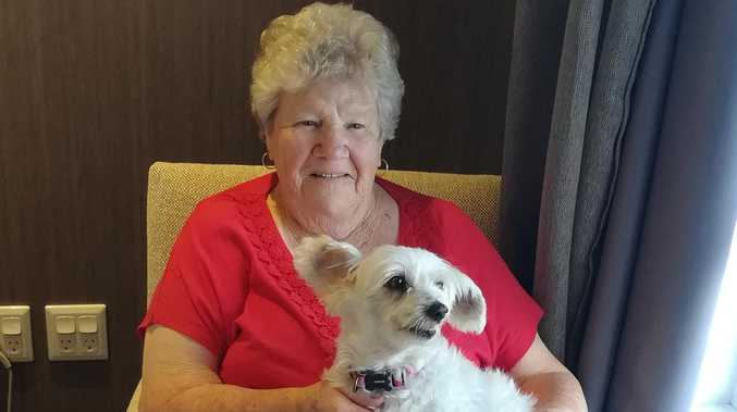 HEARTWARMING: Paw-fect companion brightens care