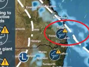 RED ZONE: 'Vicious storms could hit Gympie without warning'