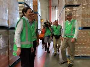 Premier Annastacia Palaszczuk tours Bundaberg Brewed Drinks