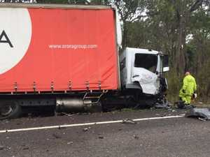 Townsville truck driver involved in fatal crash