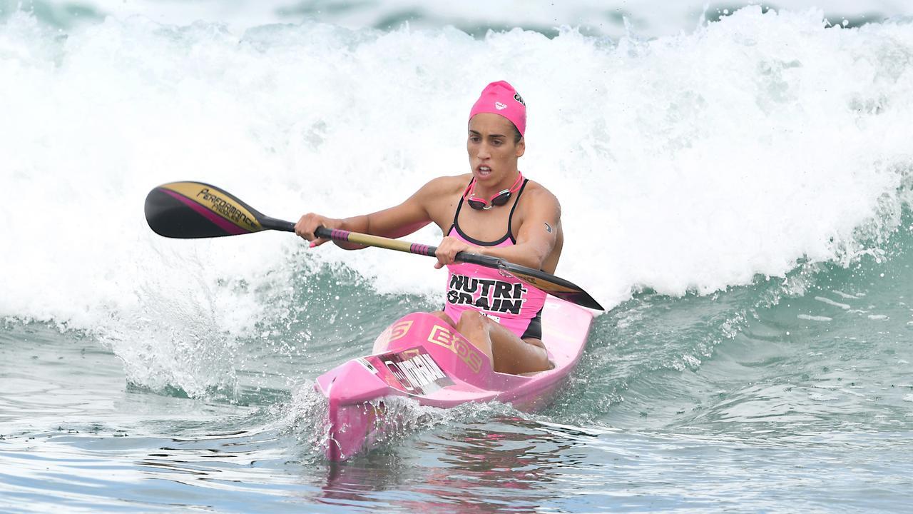 Lana Rogers has announced her move to Alexandra Headland Surf Lifesaving Club. Photo: Harvpix
