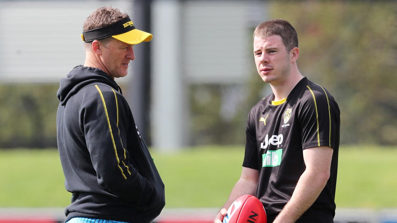Richmond's Jack Higgins told 'he may be traded' this off-season