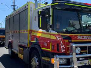 BREAKING: Fireys battle to contain shed fire on Bargara Rd