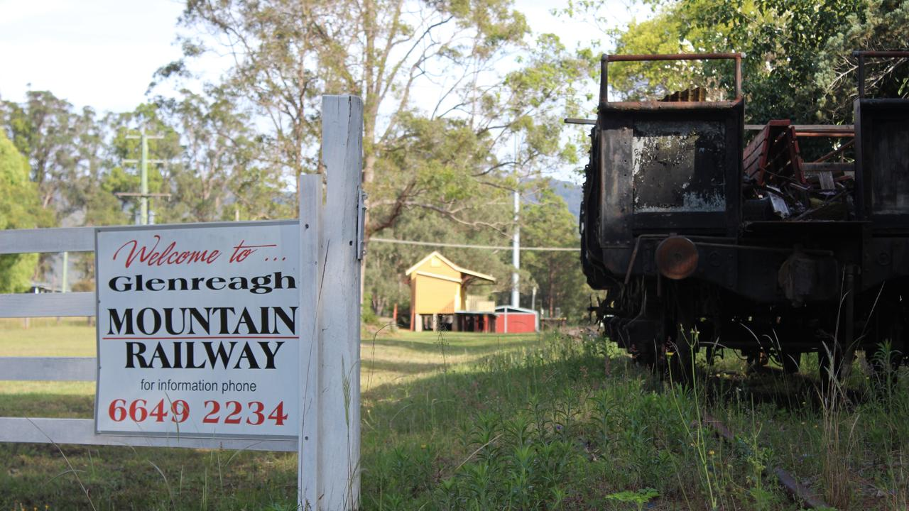Glenreagh Mountain Railway are hoping to construct a rail trail from their sheds all the way to Dorrigo. Photo: Tim Jarrett