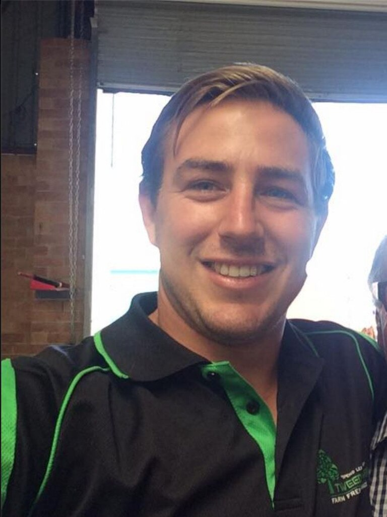 Facebook image of Grant Cook, who died in a rugby game in Murwillumbah.