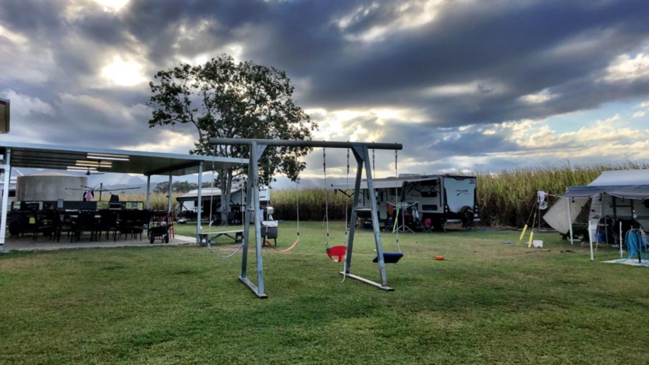 The camping grounds at Oh Deere Farm Stay, Calen. Picture: Contributed