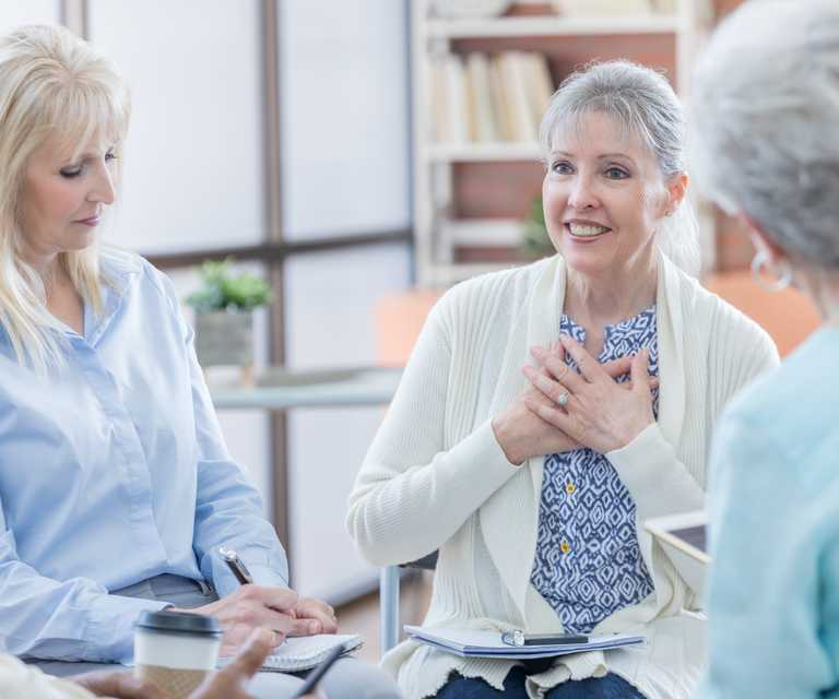 Women with advanced breast cancer find peace through support groups