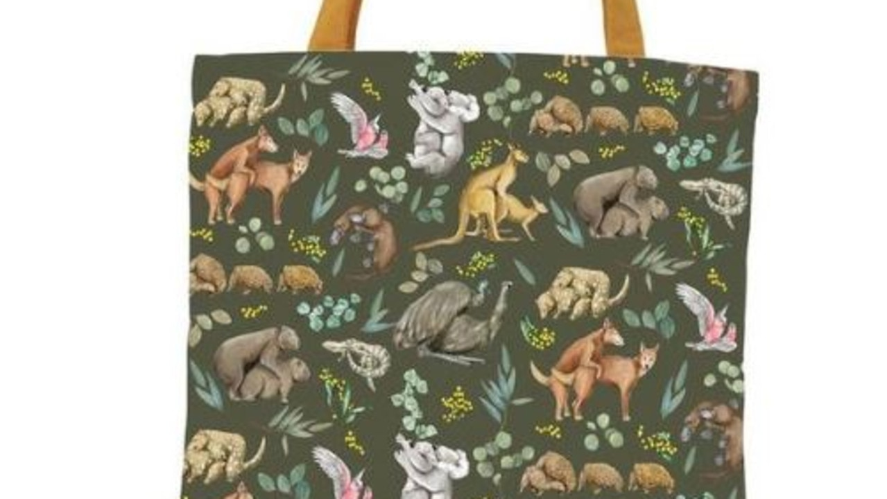 """A Sydney woman was searching for handbags online when she came across an unexpected design that left her """"shocked""""."""
