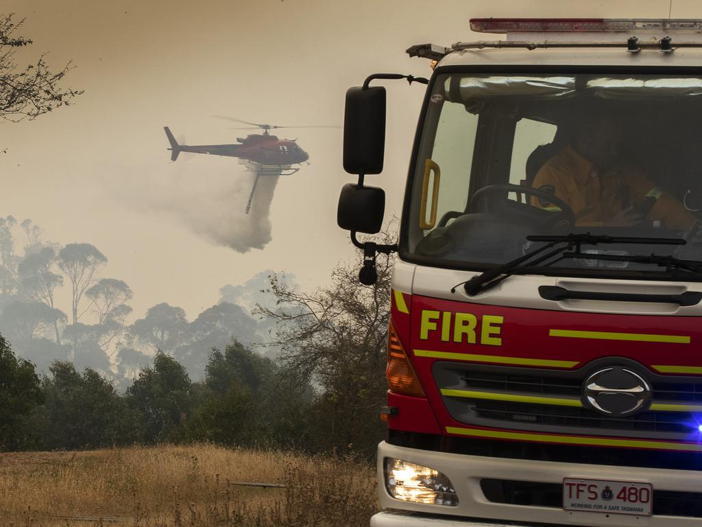 Last summer's bushfires have increased concern about climate change. Picture: Chris Kidd