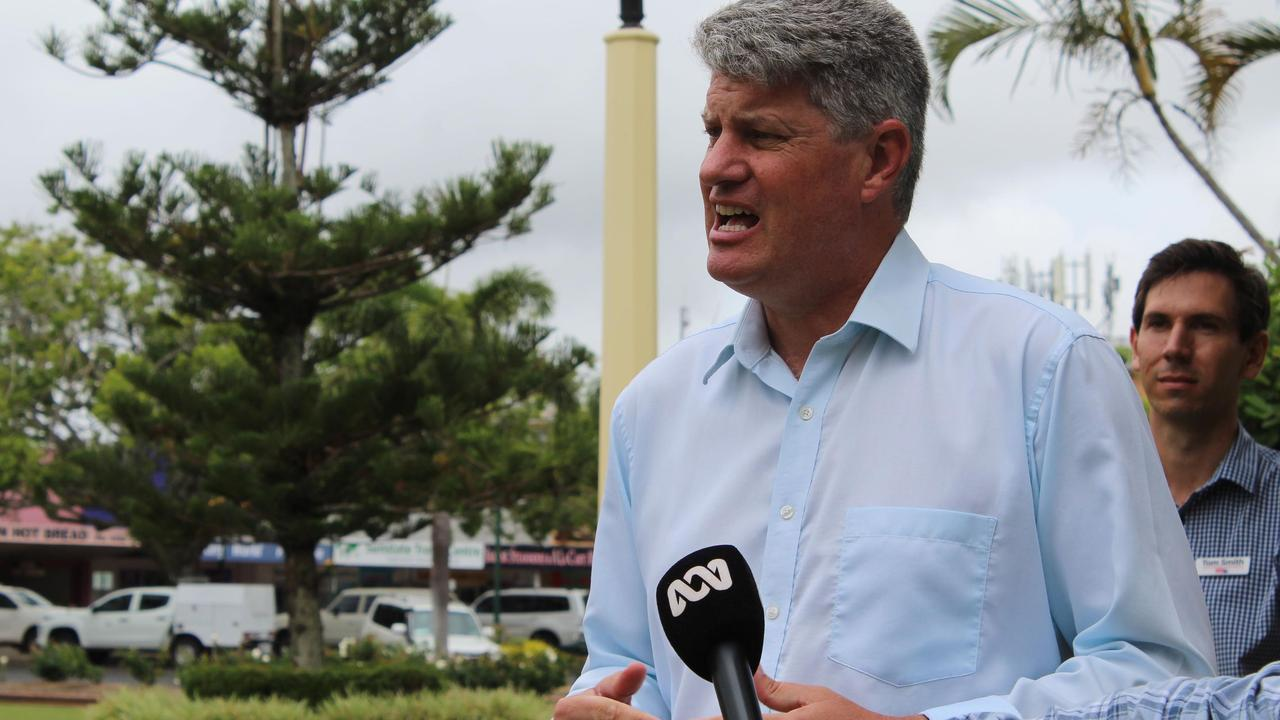 Local Government, Racing and Multicultural Affairs Minister Sterling Hinchliffe yesterday said the seat of Burnett was not a primary target.