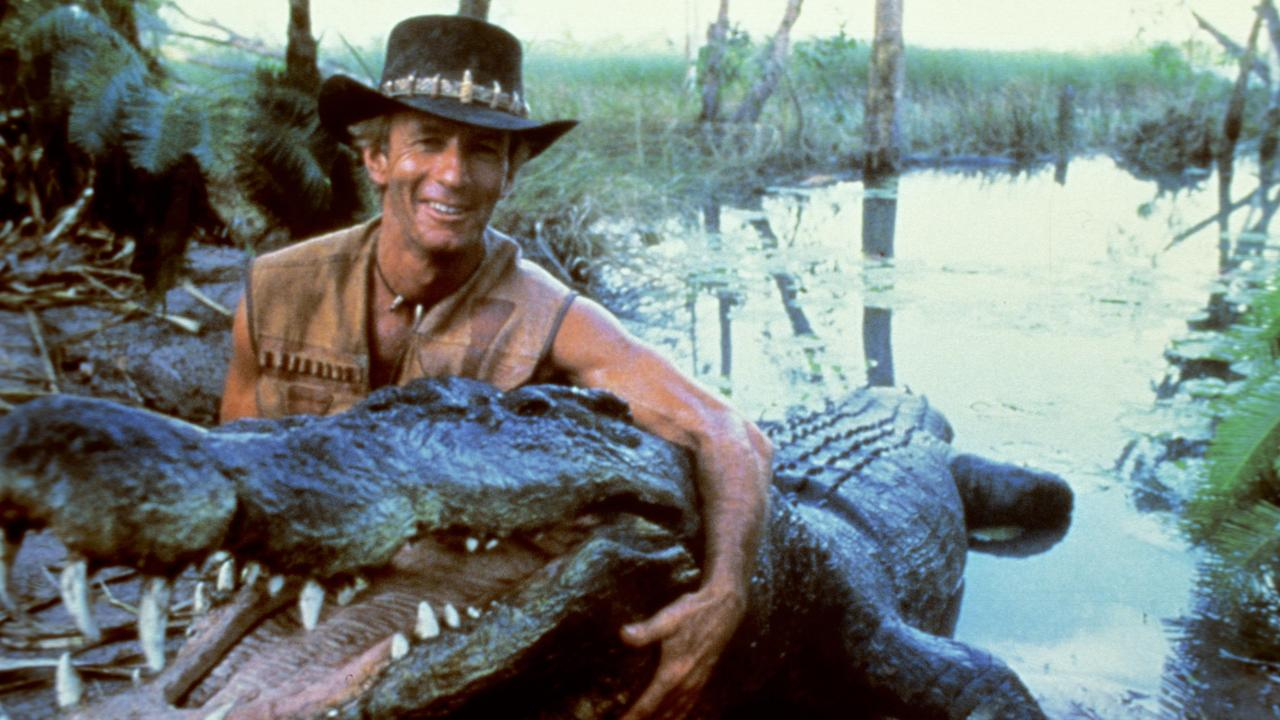 Paul Hogan skyrocketed to fame after starring in Crocodile Dundee. Picture: supplied