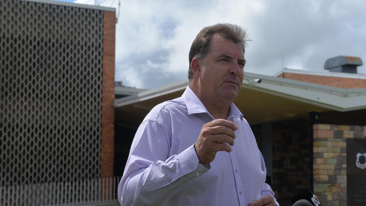 Incumbent Burnett MP Stephen Bennett.