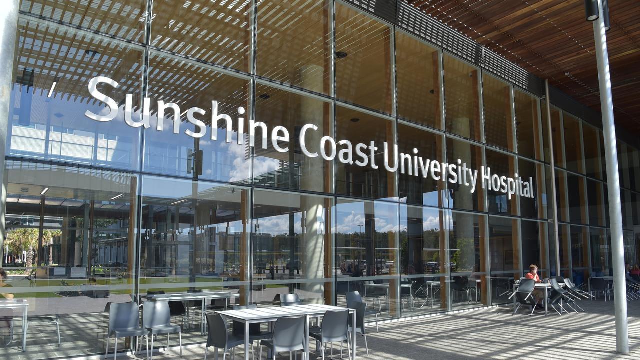 The Sunshine Coast University Hospital.