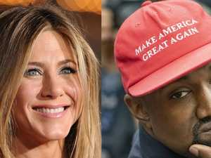 Kanye goes off at Jen Aniston on Twitter