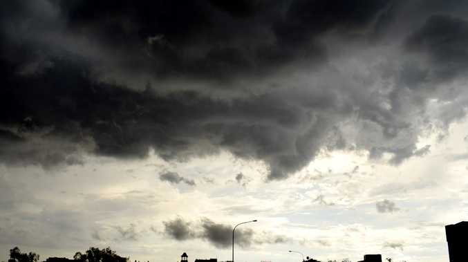 WARNING: Severe storms developing over Burnett region