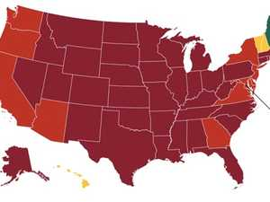 Disturbing map shows America in trouble