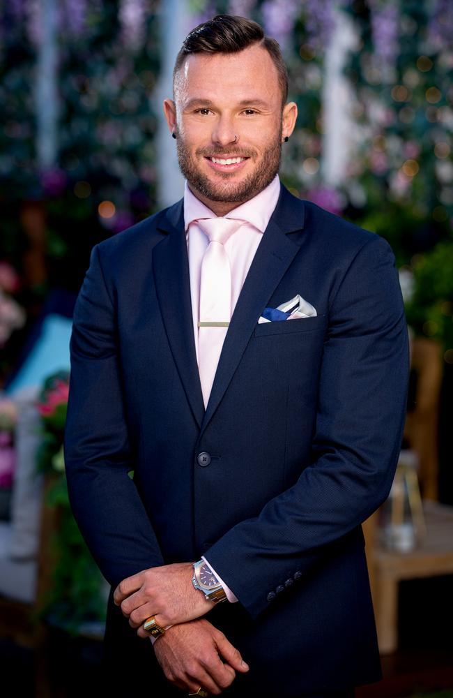James on The Bachelorette Australia. Picture: supplied