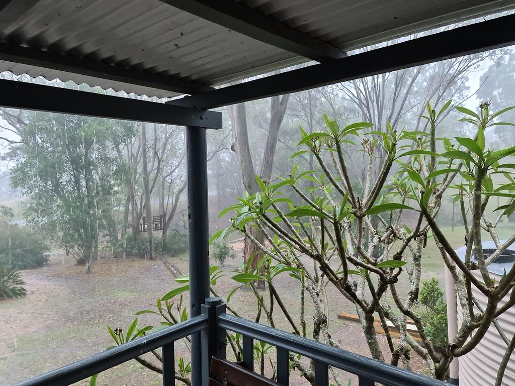 Kenilworth's Luke Van Zutphen said more than 80mm had fallen at his property since Saturday in a weather godsend to the region.