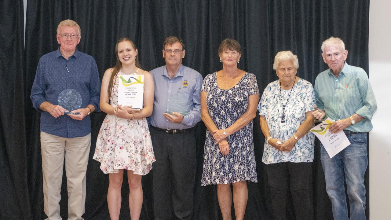 Clarence Valley Australia Day Award Winners.