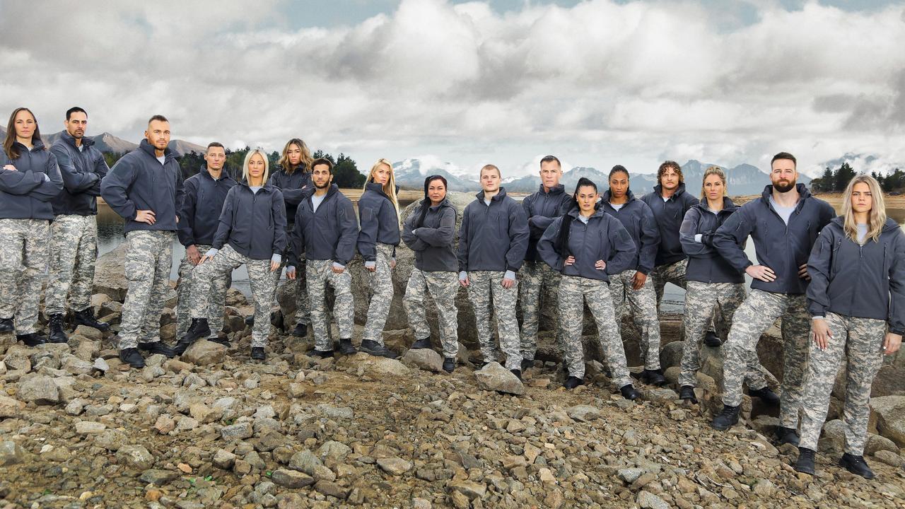 SAS Australia celebrity recruits.
