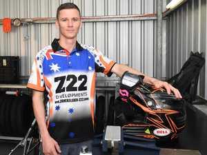 Rocky speedway rider's three-month mission to get home