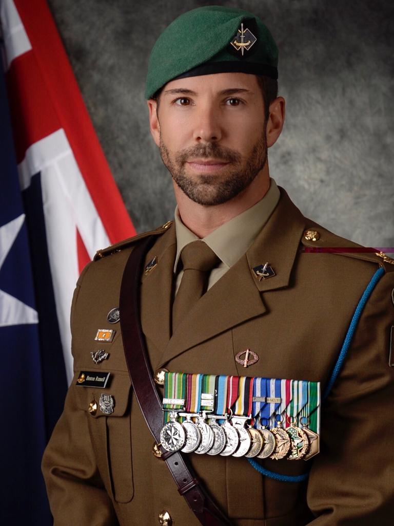 Former SAS officer Heston Russell.
