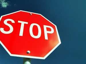 Dangerous driving: Man speeds through stop signs near school
