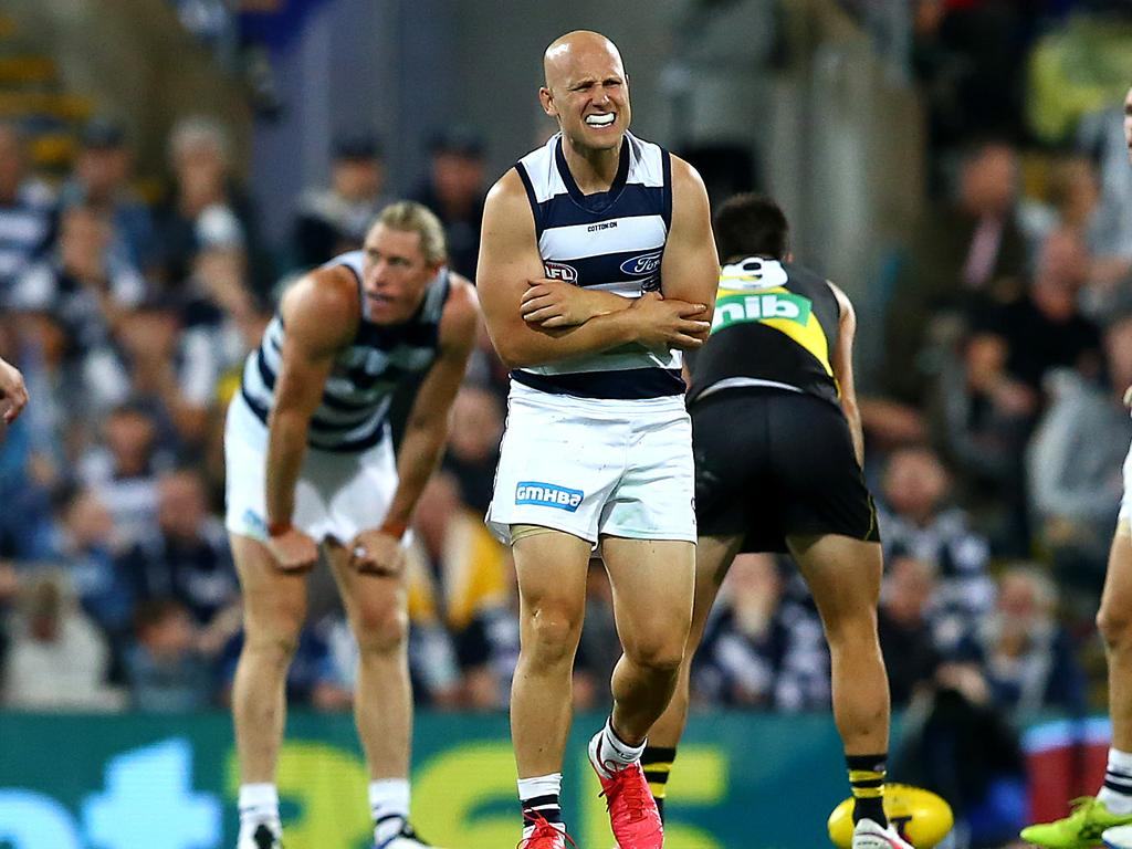 Ablett encountered early trouble on Saturday night.