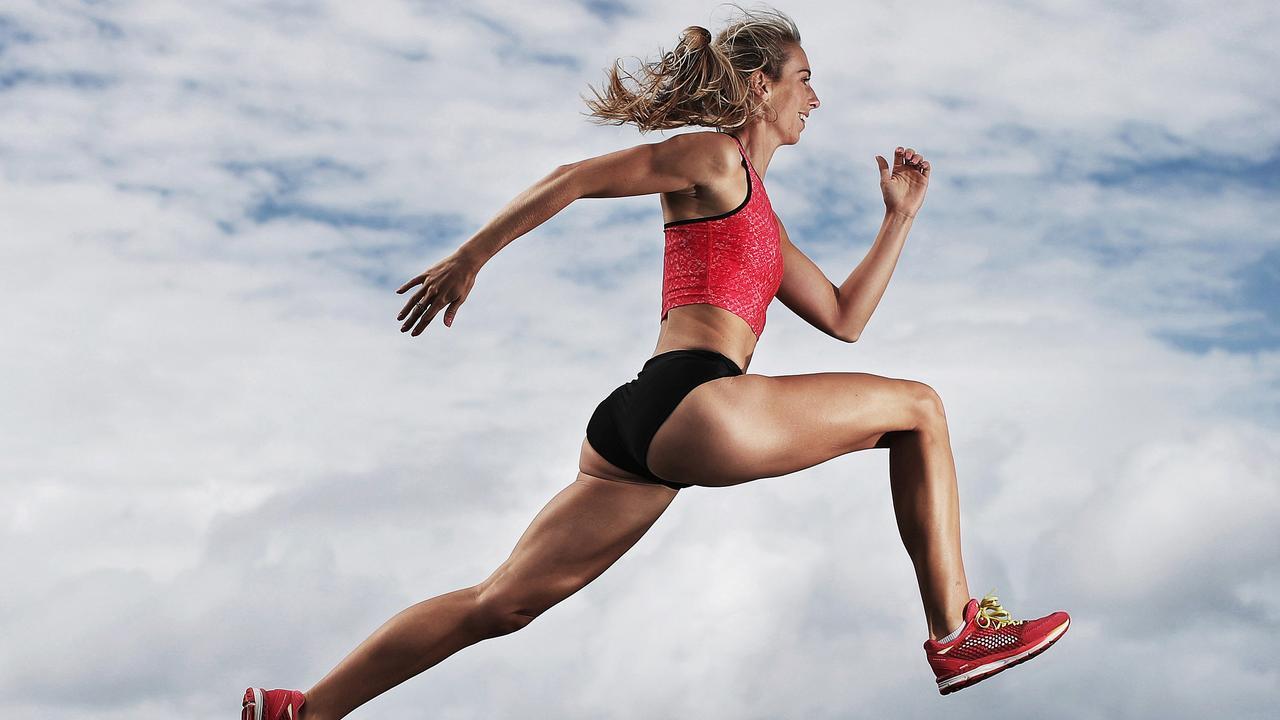 Australian 400m champion Anneliese Rubie-Renshaw. Picture: Phil Hillyard