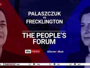 QLD 2020 Debate: Palaszczuk vs Frecklington in The People's Forum