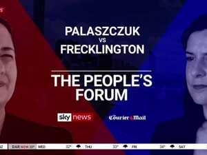 QLD 2020 Debate: Palaszczuk vs Frecklington in The People's Forum