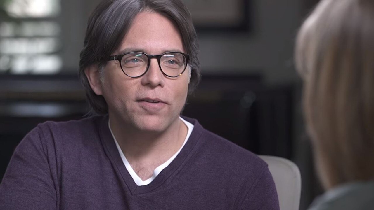NXIVM leader Keith Raniere. Picture: Keith Raniere Conversations/YouTube