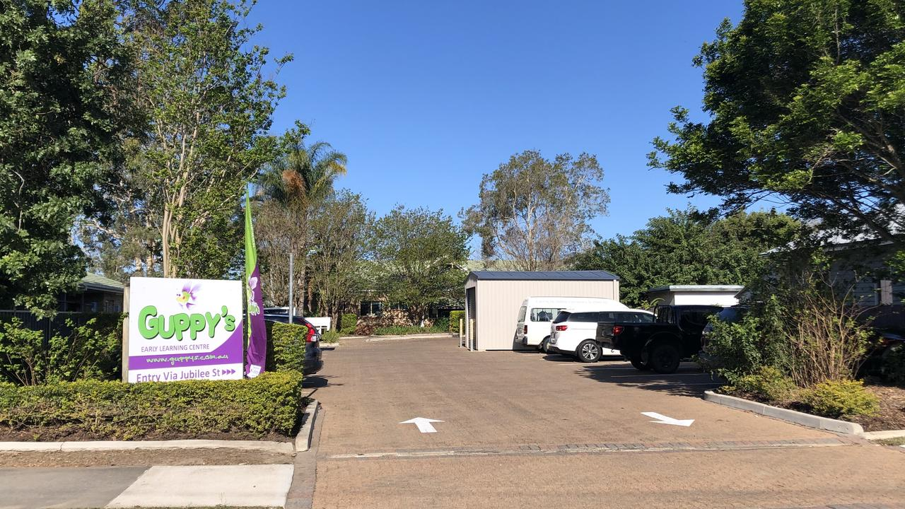 Guppy's Early Learning Centre Caboolture, where a child was allegedly left in a bus for more than an hour.