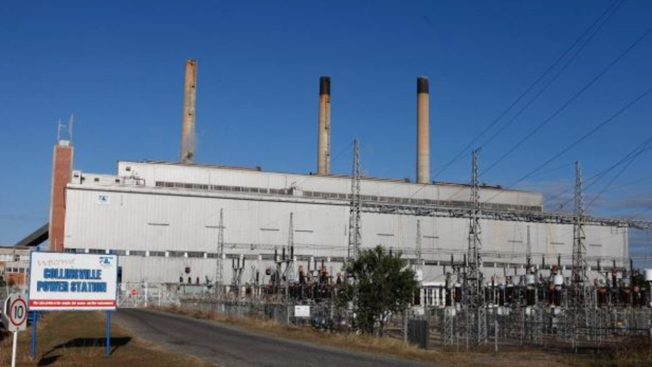 Collinsville's original coal-fired power station was closed in 2006.