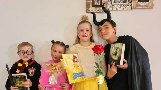 IN PHOTOS: Mackay children celebrate Book Week 2020