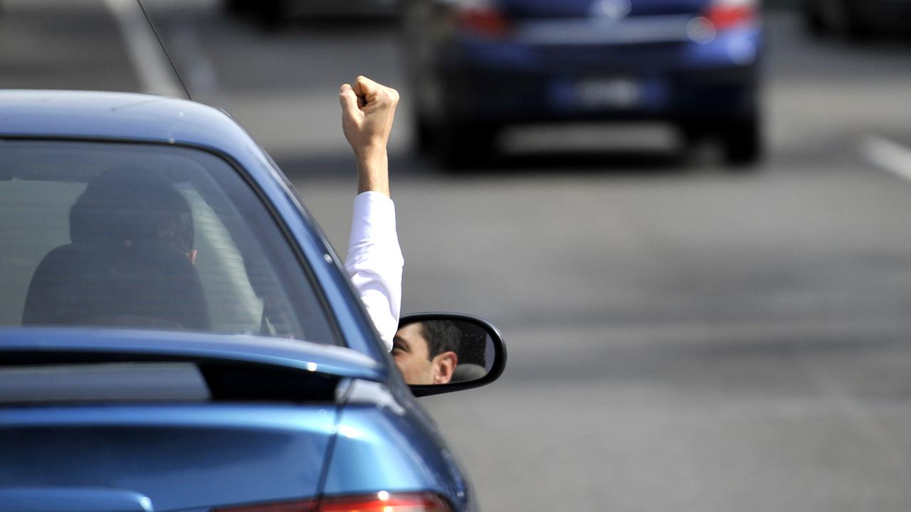 More than 60 per cent of people said they had been shouted, cursed or made a rude gesture at.