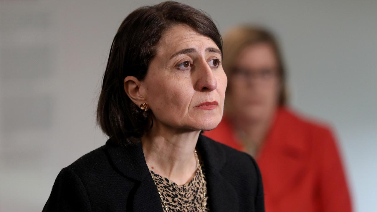 Premier Gladys Berejiklian has again appeared to deny that Daryl Maguire had a key to her home. Picture: NCA NewsWire / Damian Shaw