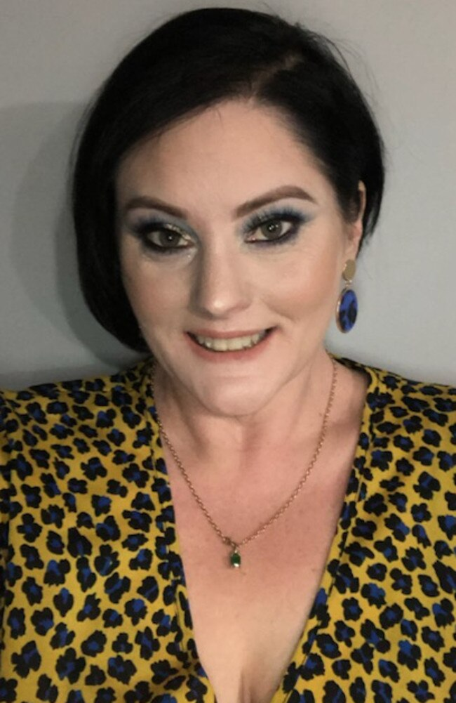 Dee Smiley was left fighting for life after she was struck by a truck while crossing the road at sandgate. Picture: Supplied