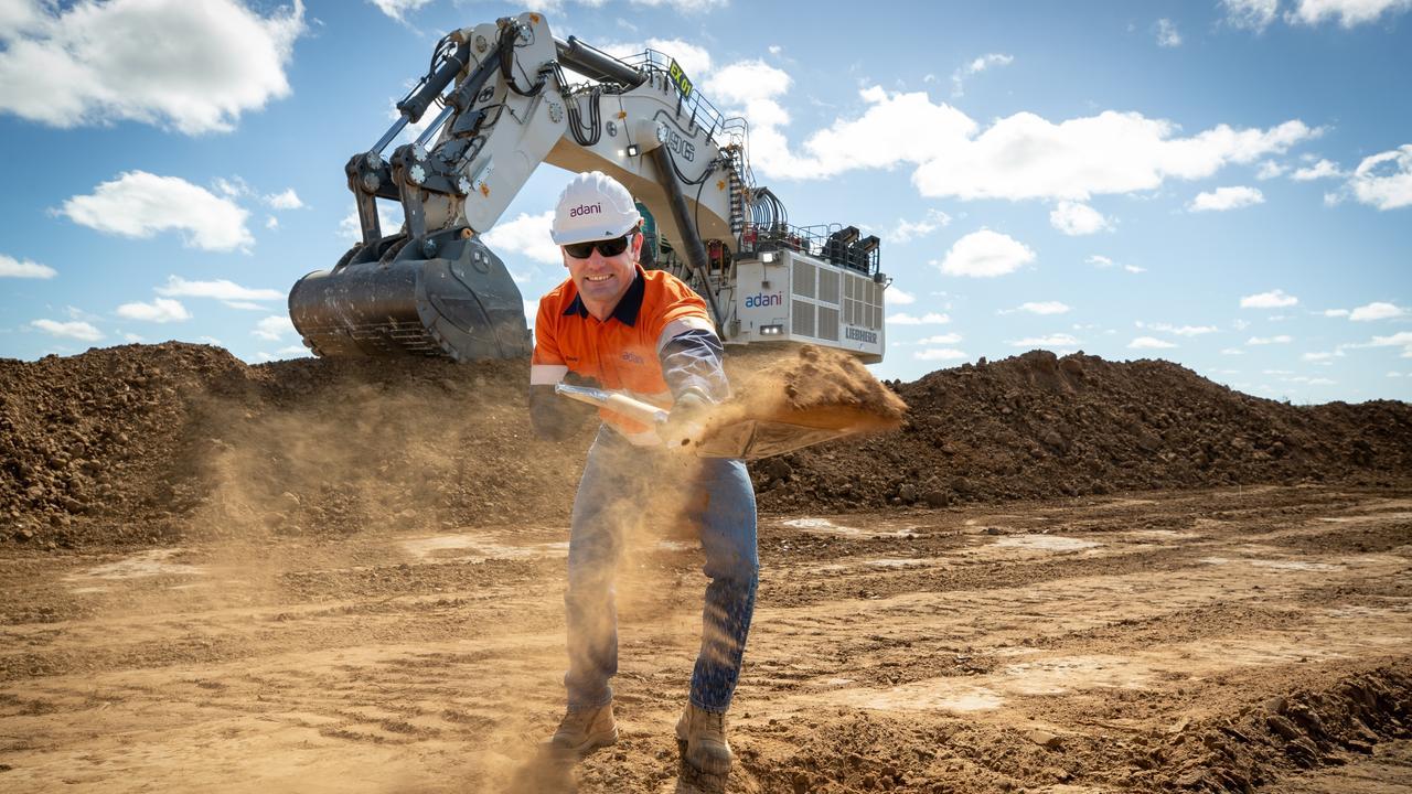 Adani Mining chief executive David Boshoff. Picture: Cameron Laird