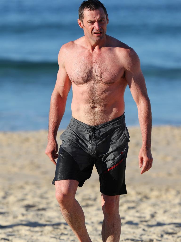 Hugh Jackman likes to fast.