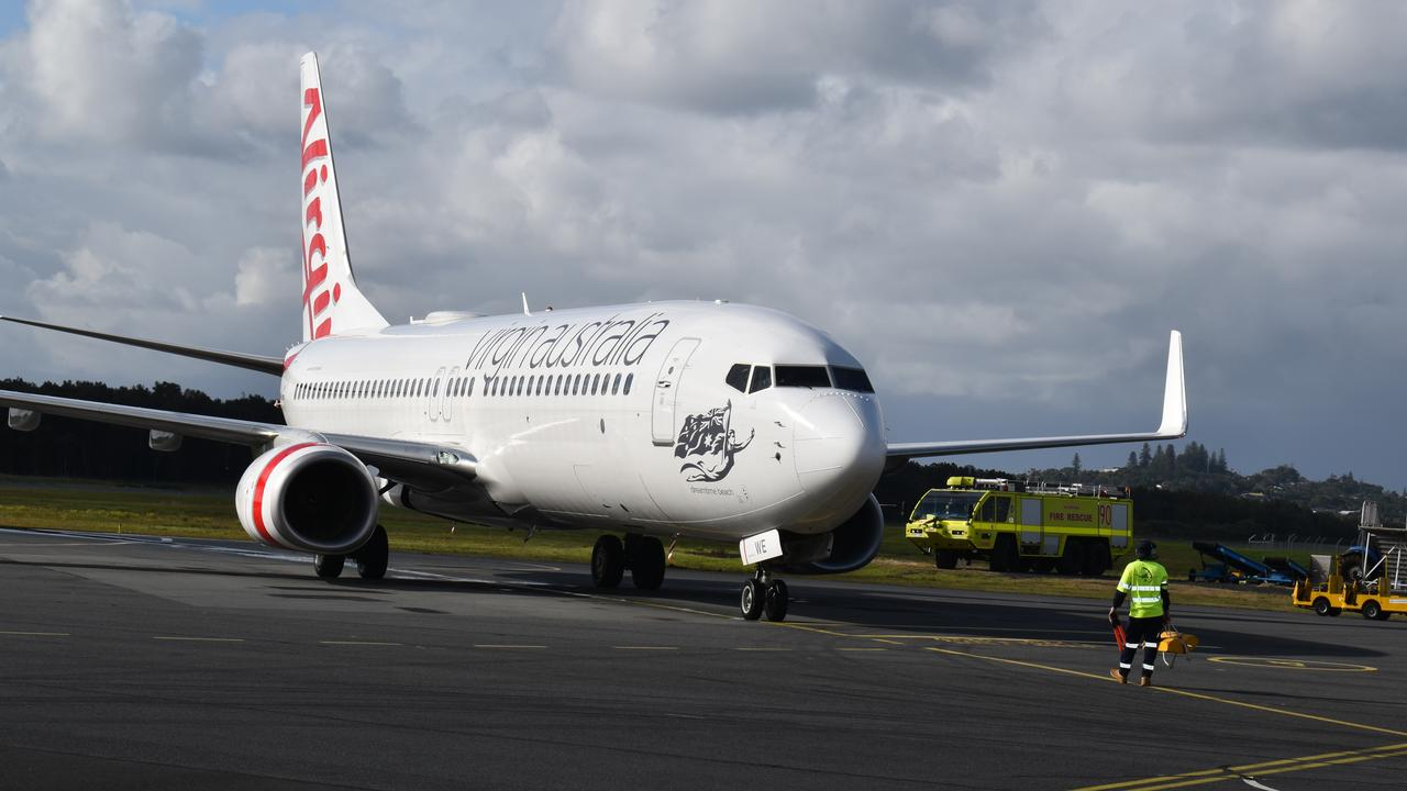Virgin Airlines has increased its flights to Ballina Airport.