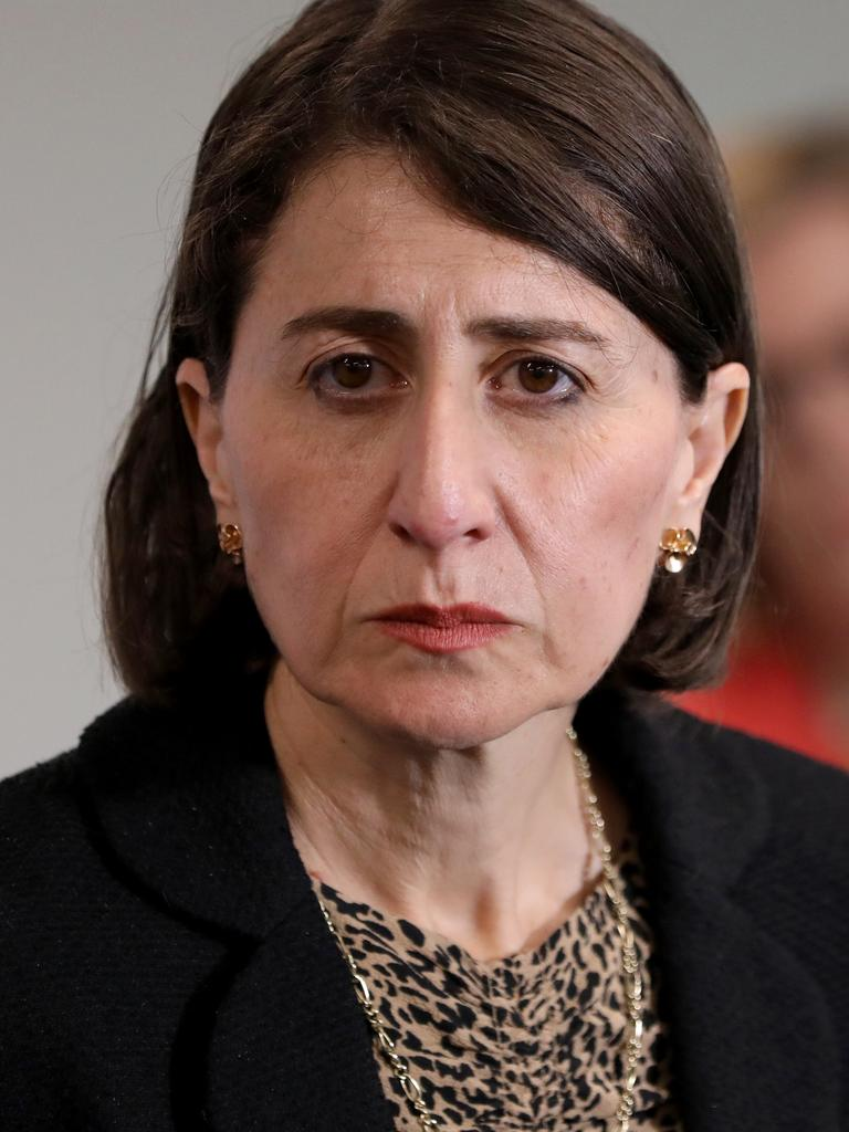 Premier Gladys Berejiklian said it was easy not to have COVID-19 cases when a state was in lockdown. Picture: Damian Shaw/NCA NewsWire